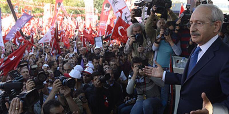 """Tandoğan'da """"Cumhuriyet"""" buluşması"""