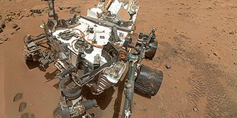 """Mars'ta su var"""