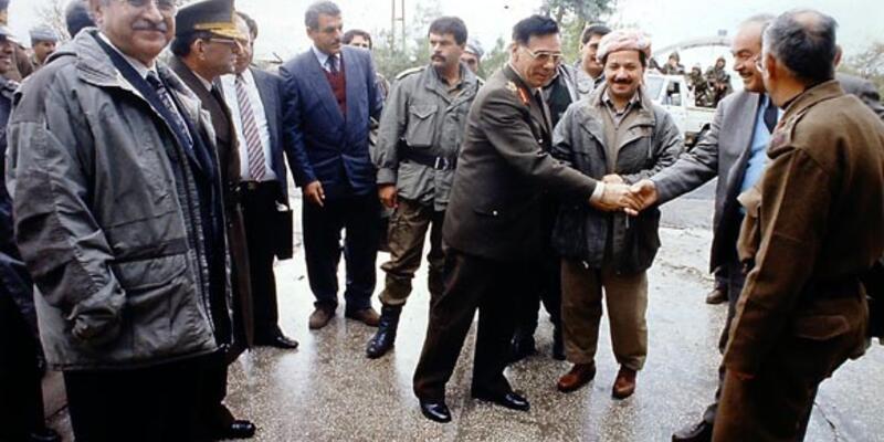 Barzani bölgeye en son 21 yıl önce gelmişti