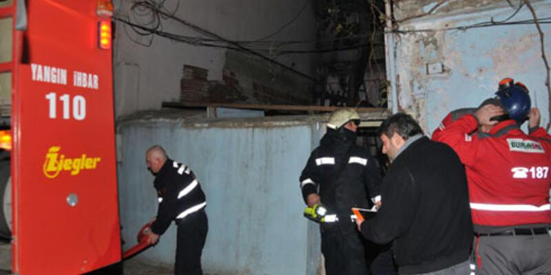 Bursa'daki yangında baba ile kızı öldü
