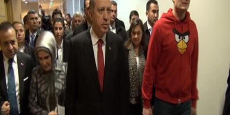 Başbakan'dan Angry Birds'e ziyaret
