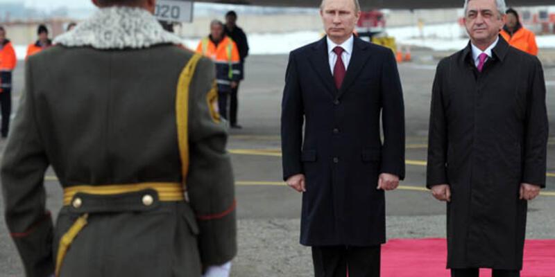 """Putin: """"Rusya Kafkaslar'da pozisyonunu güçlendirecek"""""""
