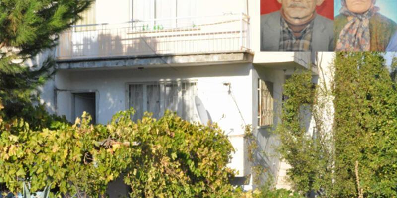 Yaşlı çifti balkondan attılar