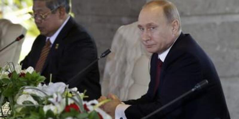 Putin 61 yaşına Bali'de girdi