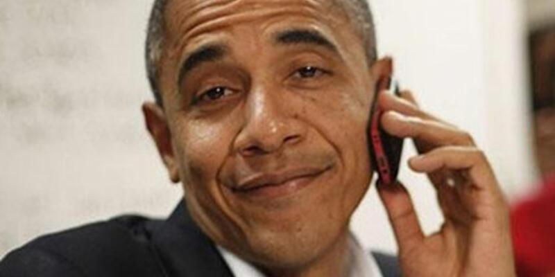 """Obama: """"iPhone kullanmam yasak"""""""