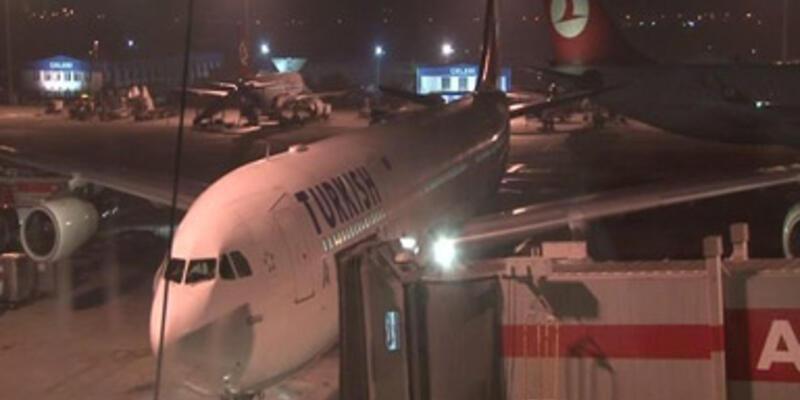 THY uçakları yerde birbirine çarptı!