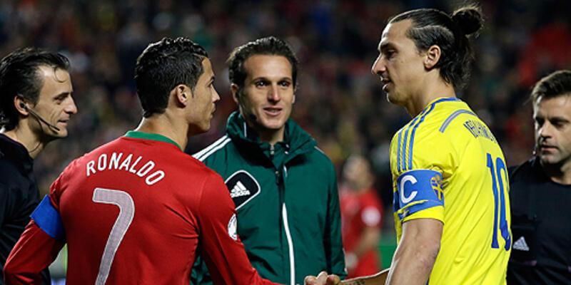 Ronaldo ve İbrahimoviç rekor peşinde