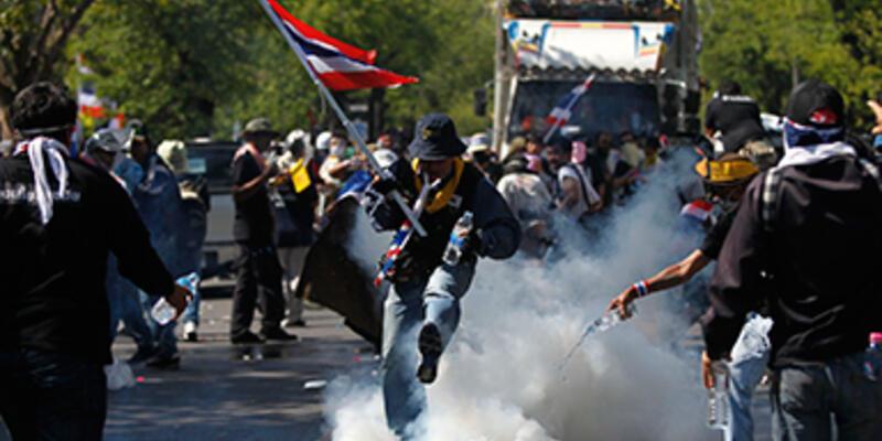 Tayland'daki gösterilerde ölü sayısı 4'e çıktı
