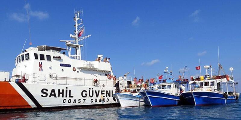 Ege'de Türk balıkçı teknelerine taciz