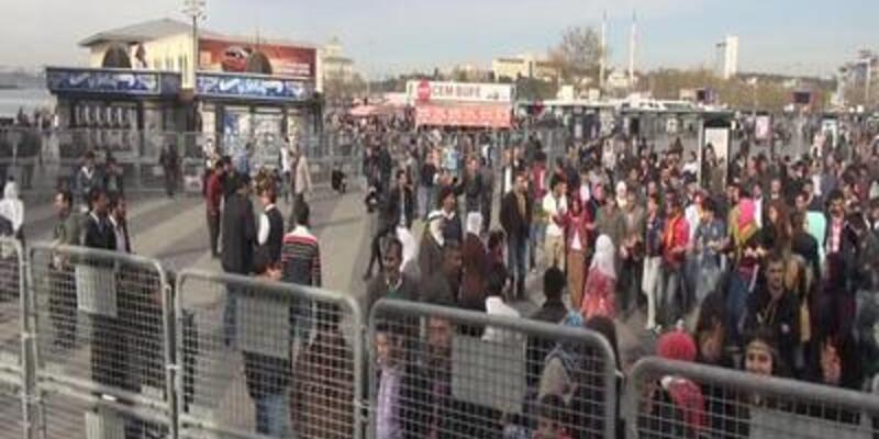 Kadıköy'deki Rojava mitinginde olaylar
