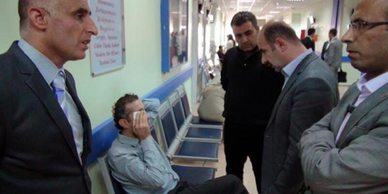 Boksör veli öğretmenleri hastanelik etti