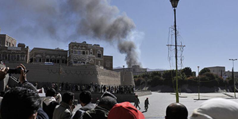 Yemen'in başkentinde patlama