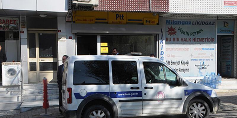 Banka ve PTT şubesinden soygun