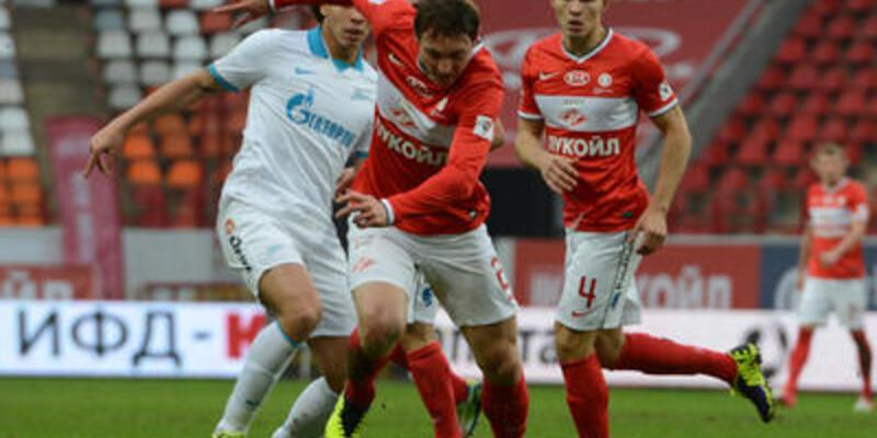 Spartak Zenit'e geçit vermedi