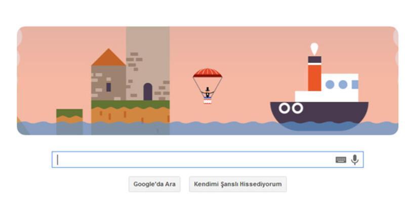 Google Garnerin'i doodle yaptı
