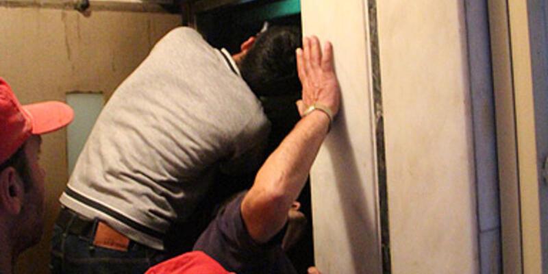 Asansör boşluğunda ölüm kalım savaşı!