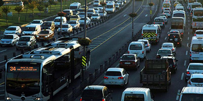 Trafikteki araç sayısı 17,7 milyonu geçti