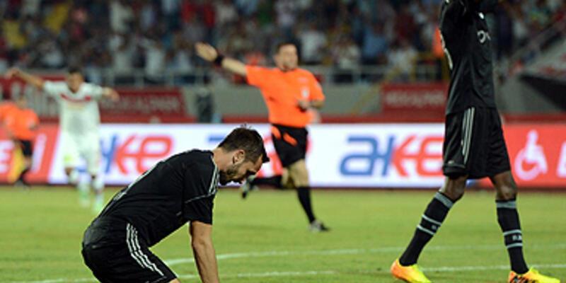 MP Antalyaspor - Beşiktaş: 2-0