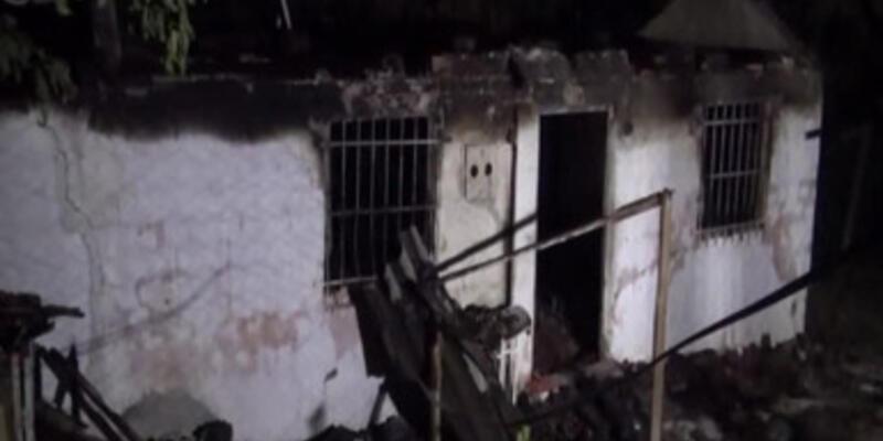 İzmir'de yangın faciası: Anne ile oğlu öldü