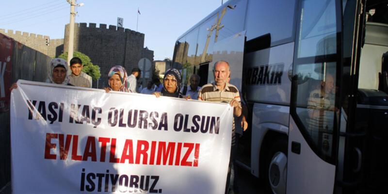 Çocukları PKK'da olan aileler Ankara'da