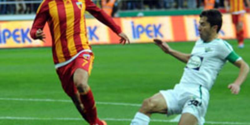 Kayserispor - Akhisar Belediyespor: 0-0