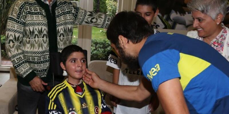 Küçük Fatih'in Fenerbahçe rüyası gerçek oldu