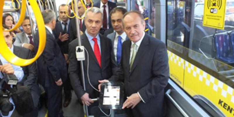 """İstanbul'da """"akıllı otobüs"""" dönemi"""