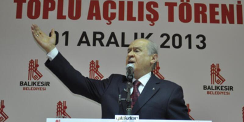 """""""Türk yoktur"""" Bahçeli'yi öfkelendirdi!"""
