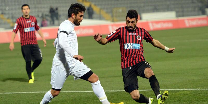 Gençlerbirliği - Nazilli Belediyespor: 0-1