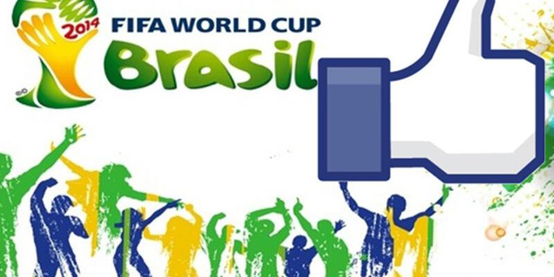 Facebook'ta Dünya Kupası rekoru