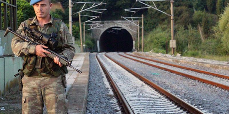 Yüksek hızlı trene özel koruma!