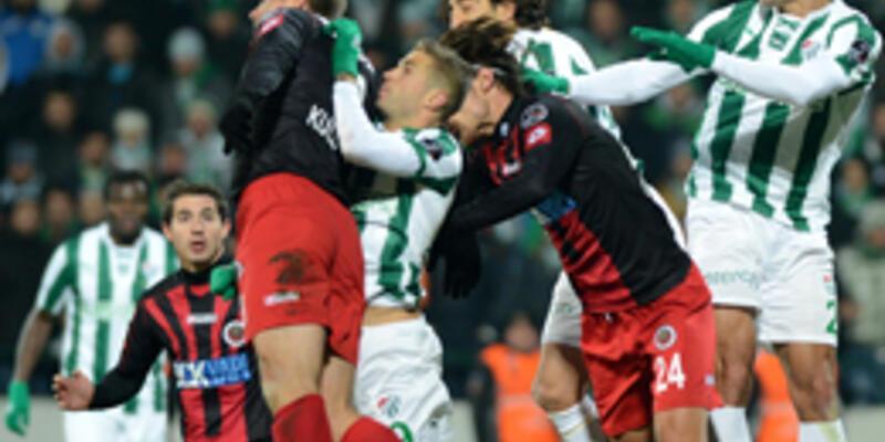 Bursaspor - Gençlerbirliği: 0-0