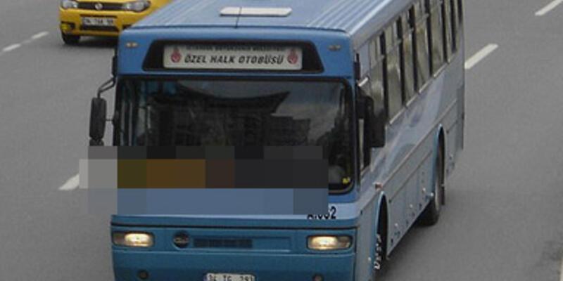 Halk otobüsü şoförüne ilginç ceza!