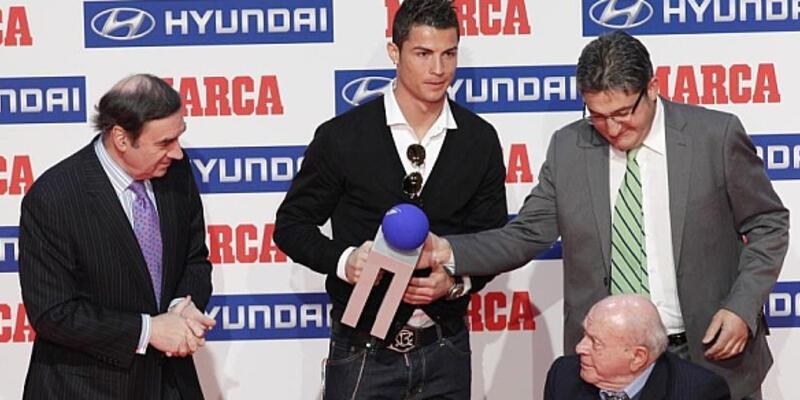 Marca'dan Cristiano Ronaldo'ya ödül