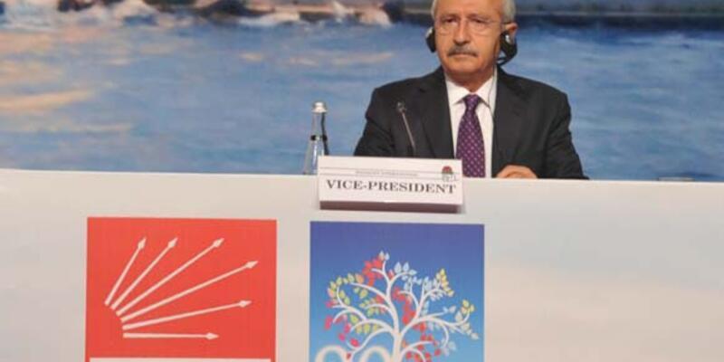 Kılıçdaroğlu, Sosyalist Enternasyonal'in açılışında konuştu