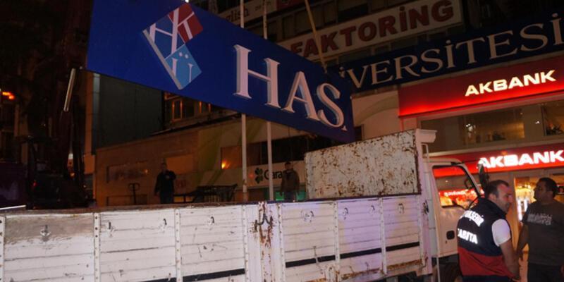 İstanbul'da ikinci tabela operasyonu