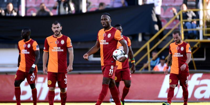 Galatasaray 13. sıraya geriledi