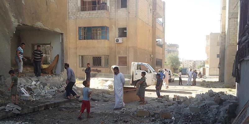 Esad güçlerinden Türkmen köylerine hava saldırısı