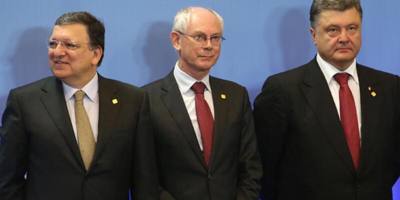 Ukrayna AB ile ortaklık anlaşmasını imzaladı