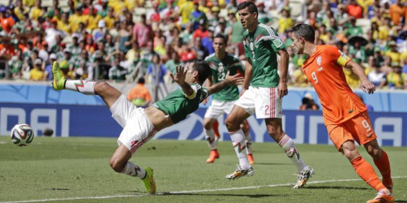 Dünya Kupası 2. Tur: Hollanda - Meksika: 2-1