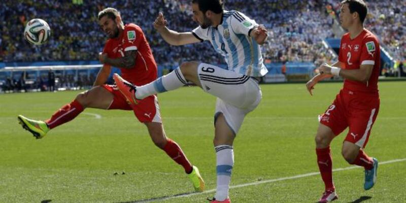 Dünya Kupası 2. Tur: Arjantin - İsviçre: 1-0