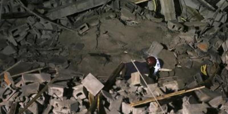Brezilya'da beş katlı bina çöktü