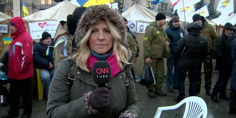 CNN TÜRK Ukrayna sokaklarının nabzını tuttu