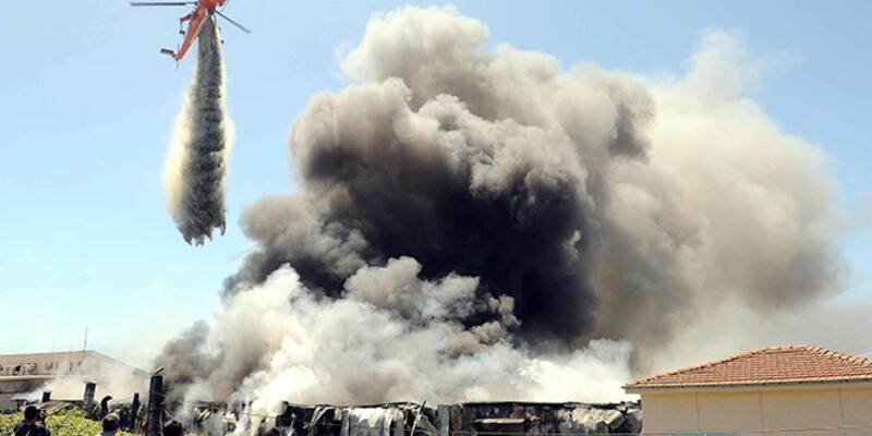 Hadımköy'deki yangın kontrol altına alındı