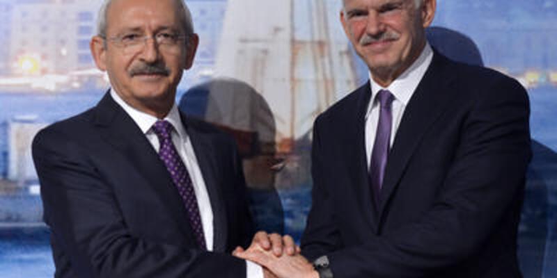 """Papandreu'dan """"Gezi"""" mesajı"""