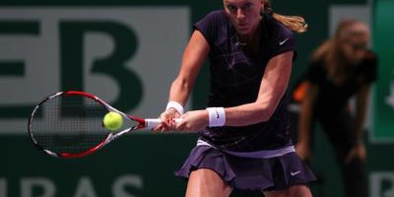Kvitova Radwanska'yı geçti