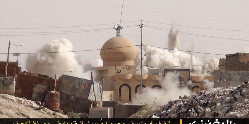 IŞİD Musul ve Telafer'de camileri havaya uçurdu