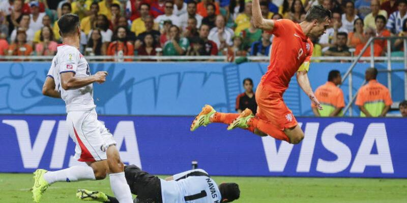 Dünya Kupası Çeyrek Final: Hollanda - Kosta Rika: 4-3