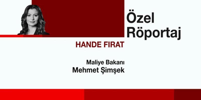 Mehmet Şimşek ile Özel Röportaj, CNN TÜRK'te