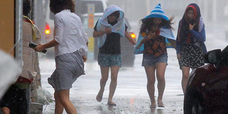 Japonya'da süper tayfun tehlikesi!